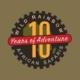 Wild Rainbow African Safaris 10 Year Anniversary Graphic